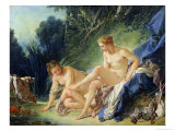 Diana Getting out of Her Bath  1742