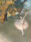 The Star, or Dancer on the Stage, circa 1876-77 Giclée par Edgar Degas