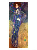 Emilie Floege Reproduction d'art par Gustav Klimt
