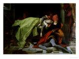 Death of Francesca Da Rimini and Paolo Malatesta  1870