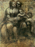 The Virgin and Child with Ss Anne and John the Baptist  circa 1499