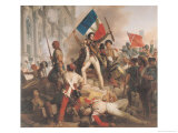 Fighting at the Hotel De Ville  28th July 1830  1833