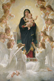 The Virgin with Angels  1900