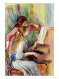 Young Girls at the Piano  circa 1890