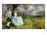 Mr and Mrs Andrews  circa 1748-9