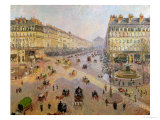 The Avenue De L&#39;Opera  Paris  circa 1880