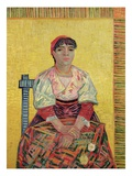 The Italian: Agostina Segatori  1887 (Oil on Canvas)
