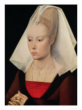 Portrait of a Lady  circa 1450-60