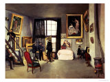 The Artist&#39;s Studio  1870