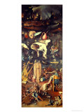 The Garden of Earthly Delights: Hell  Right Wing of Triptych  circa 1500