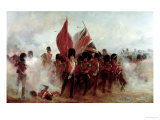 Scots Guards Saving the Colours at Alma  1854  1899