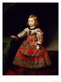 The Infanta Maria Margarita (1651-73) of Austria as a Child