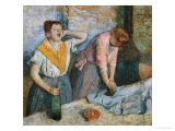 The Laundresses  circa 1884