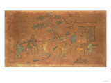 Scene from the Life of Confucius (circa 551-479 BC) and His Disciples  Qing Dynasty (1644-1912)