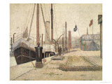 La Maria at Honfleur  1886