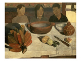 The Meal (The Bananas)  1891 (Oil on Canvas)
