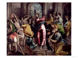 Christ Driving the Traders from the Temple  circa 1600