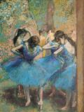 Danseuses en bleu, vers 1895 Giclée par Edgar Degas
