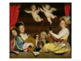 The Concert  1624