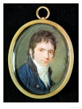 Miniature Portrait of Ludwig Van Beethoven (1770-1827)  1802