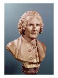 Bust of Jean-Jacques Rousseau (1712-78)