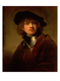 Tronie&#39; of a Young Man with Gorget and Beret  circa 1639