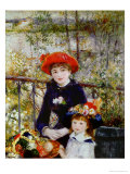 Two Sisters  or on the Terrace  1881