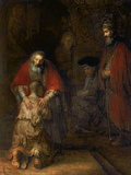 Return of the Prodigal Son  circa 1668-69