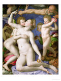 An Allegory with Venus and Cupid  circa 1540-50