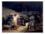 Execution of the Defenders of Madrid  3rd May  1808  1814