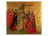 Maesta: Descent from the Cross  1308-11