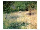 Spring at Chatou  circa 1872-5