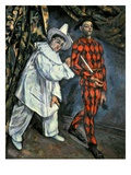 Pierrot and Harlequin (Mardi Gras)  1888 (Oil on Canvas)