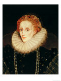 Portrait of Queen Elizabeth I (1533-1603)