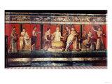 The Hall of Mysteries  Pompeii  79 AD