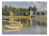 The Bridge at Argenteuil  1874 (Oil on Canvas)