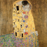 Le Baiser, 1907-08 Reproduction d'art par Gustav Klimt