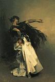 La danseuse espagnole, étude pour «El Jaleo»,1882 Giclée par John Singer Sargent