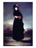 Mariana Waldstein (1763-1808) 9th Marquesa of Santa Cruz  circa 1797-99