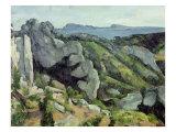 Rocks at L'Estaque  1879-82