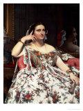 Madame Moitessier  1856
