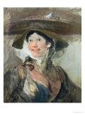 The Shrimp Girl  circa 1745