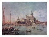 Venice  the Punta Della Dogana with Santa Maria Della Salute  circa 1770
