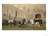 Morning Exercise in the Hofreitschule  Josephsplatz  1890
