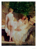 After the Bath  circa 1880