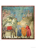 St Francis Gives His Coat to a Stranger  1296-97