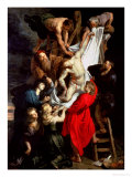 The Descent from the Cross  Central Panel of the Triptych  1611-14
