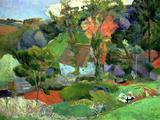 Landscape at Pont Aven  1888