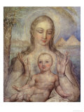 The Virgin and Child in Egypt  1810