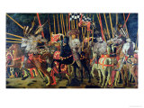 The Battle of San Romano in 1432  circa 1456
